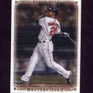 2008 UD Masterpieces Baseball #10 Nick Markakis - Baltimore Orioles