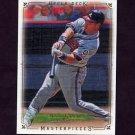 2008 UD Masterpieces Baseball #06 Mark Teixeira - Atlanta Braves
