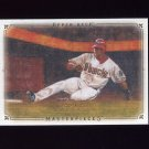 2008 UD Masterpieces Baseball #02 Justin Upton - Arizona Diamondbacks