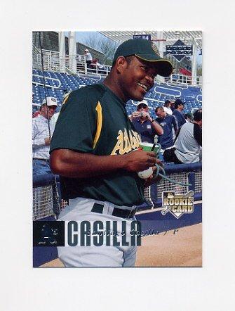 2006 Upper Deck Baseball #1143 Santiago Casilla RC - Oakland A's