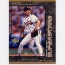 1999 UD Choice Baseball Superstars #S10 Greg Maddux - Atlanta Braves