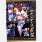 1999 UD Choice Baseball Superstars #S02 Mark McGwire - St. Louis Cardinals