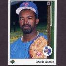 1989 Upper Deck Baseball #576 Cecilio Guante - Texas Rangers