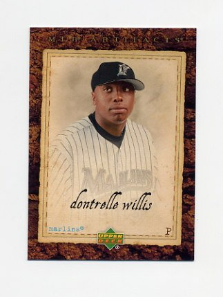 2007 Artifacts Baseball #046 Dontrelle Willis - Florida Marlins