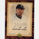 2007 Artifacts Baseball #046 Dontrelle Willis - Florida Marlins