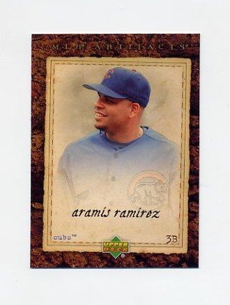 2007 Artifacts Baseball #039 Aramis Ramirez - Chicago Cubs