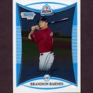 2008 Bowman Chrome Prospects Baseball #BCP155 Brandon Barnes - Houston Astros