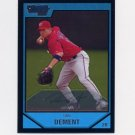 2007 Bowman Chrome Prospects Baseball #BC80 Dan Dement - Washington Nationals