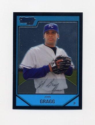 2007 Bowman Chrome Prospects Baseball #BC57 John Gragg - Kansas City Royals