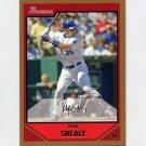 2007 Bowman Gold Baseball #022 Ryan Shealy - Kansas City Royals