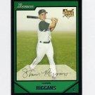2007 Bowman Baseball #203 Shawn Riggans RC - Tampa Bay Devil Rays