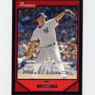 2007 Bowman Baseball #109 Mike Mussina - New York Yankees