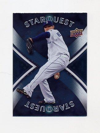 2008 Upper Deck Baseball Star Quest #45 Felix Hernandez - Seattle Mariners