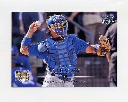2008 Upper Deck Baseball #725 Matt Tupman RC - Kansas City Royals