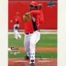 2008 Upper Deck Baseball #707 Johnny Cueto RC - Cincinnati Reds