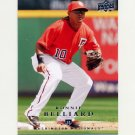 2008 Upper Deck Baseball #699 Ronnie Belliard - Washington Nationals
