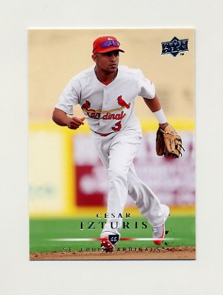 2008 Upper Deck Baseball #657 Cesar Izturis - St. Louis Cardinals
