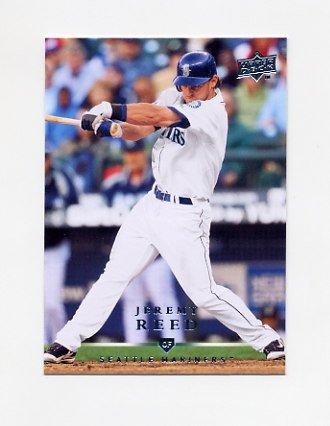 2008 Upper Deck Baseball #643 Jeremy Reed - Seattle Mariners