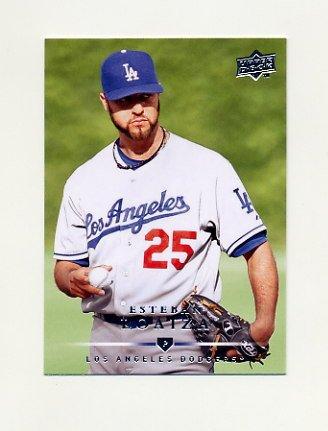 2008 Upper Deck Baseball #548 Esteban Loaiza - Los Angeles Dodgers