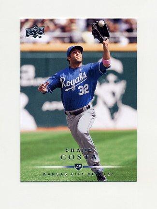 2008 Upper Deck Baseball #524 Shane Costa - Kansas City Royals