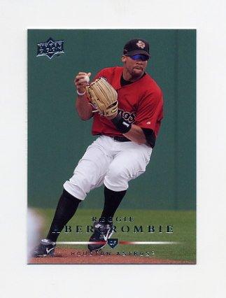 2008 Upper Deck Baseball #518 Reggie Abercrombie - Houston Astros