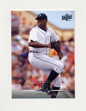 2008 Upper Deck Baseball #493 Dontrelle Willis - Detroit Tigers