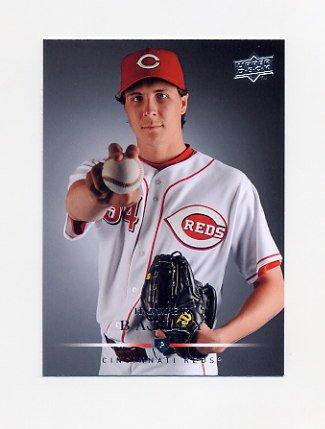 2008 Upper Deck Baseball #463 Homer Bailey - Cincinnati Reds