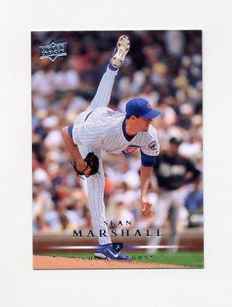 2008 Upper Deck Baseball #443 Sean Marshall - Chicago Cubs