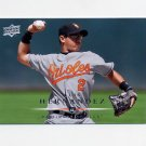 2008 Upper Deck Baseball #427 Luis Hernandez - Baltimore Orioles