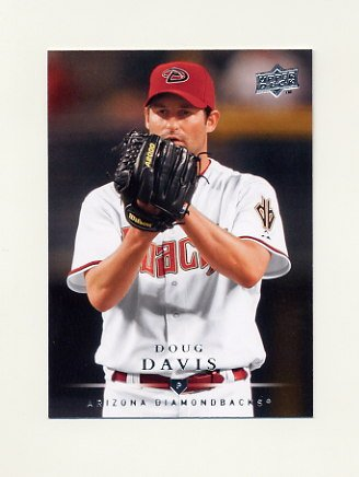 2008 Upper Deck Baseball #407 Doug Davis - Arizona Diamondbacks