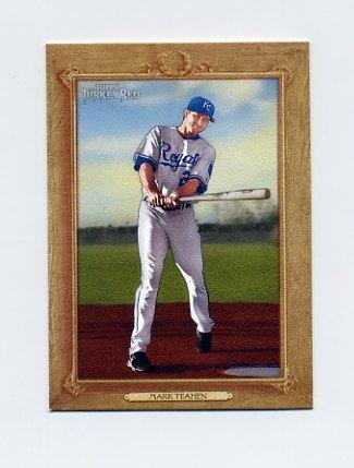 2007 Topps Turkey Red Baseball #181 Mark Teahen - Kansas City Royals