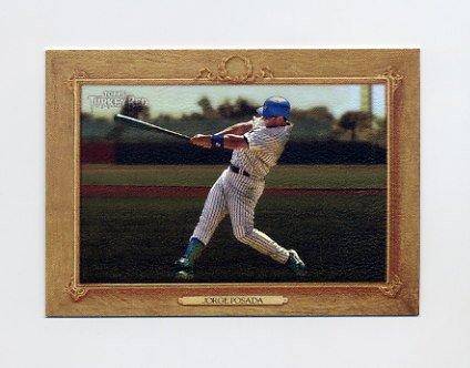 2007 Topps Turkey Red Baseball #164 Jorge Posada - New York Yankees