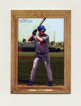 2007 Topps Turkey Red Baseball #158 Jeff Kent - Los Angeles Dodgers