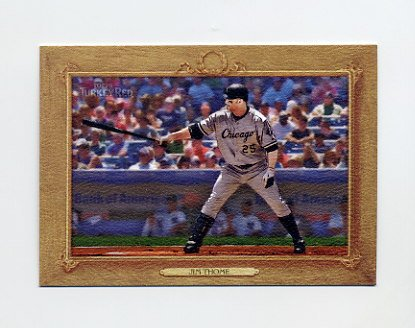 2007 Topps Turkey Red Baseball #145 Jim Thome - Chicago White Sox