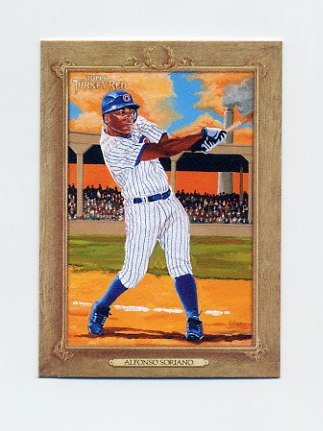 2007 Topps Turkey Red Baseball #140 Alfonso Soriano - Chicago Cubs