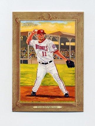 2007 Topps Turkey Red Baseball #127 Ryan Zimmerman - Washington Nationals
