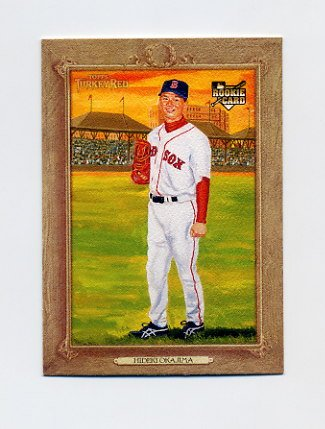2007 Topps Turkey Red Baseball #119 Hideki Okajima RC - Boston Red Sox