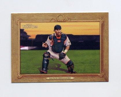 2007 Topps Turkey Red Baseball #112 Ramon Hernandez - Baltimore Orioles