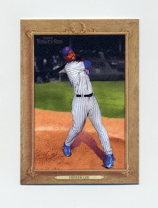 2007 Topps Turkey Red Baseball #096 Derrek Lee - Chicago Cubs