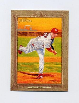 2007 Topps Turkey Red Baseball #072 Chris Carpenter - St. Louis Cardinals