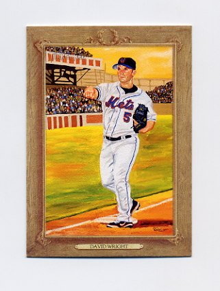 2007 Topps Turkey Red Baseball #070 David Wright - New York Mets