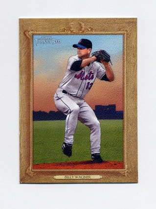 2007 Topps Turkey Red Baseball #046 Billy Wagner - New York Mets