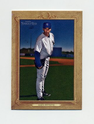 2007 Topps Turkey Red Baseball #035 Andy Pettitte - New York Yankees