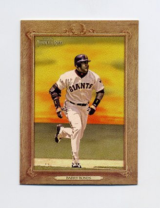 2007 Topps Turkey Red Baseball #030 Barry Bonds - San Francisco Giants