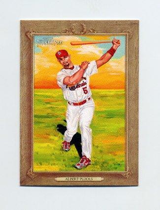 2007 Topps Turkey Red Baseball #025 Albert Pujols - St. Louis Cardinals
