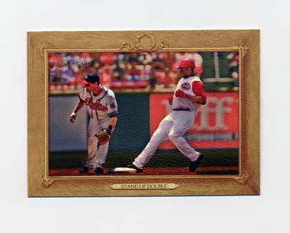 2007 Topps Turkey Red Baseball #016 Stand Up Double Ken Griffey Jr. Checklist