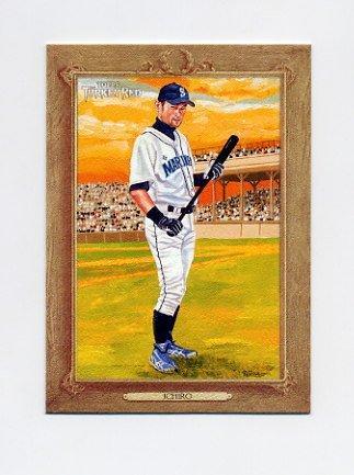 2007 Topps Turkey Red Baseball #015 Ichiro Suzuki - Seattle Mariners