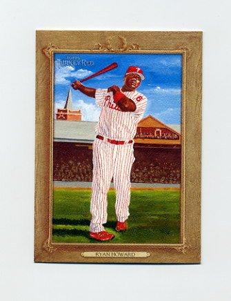 2007 Topps Turkey Red Baseball #001 Ryan Howard - Philadelphia Phillies