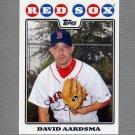 2008 Topps Update Baseball #UH086 David Aardsma - Boston Red Sox