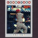 2008 Topps Chrome Baseball X-Fractors #098 Troy Glaus - St. Louis Cardinals